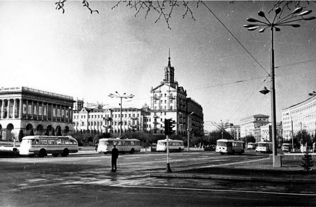 Майдан в 1960 году