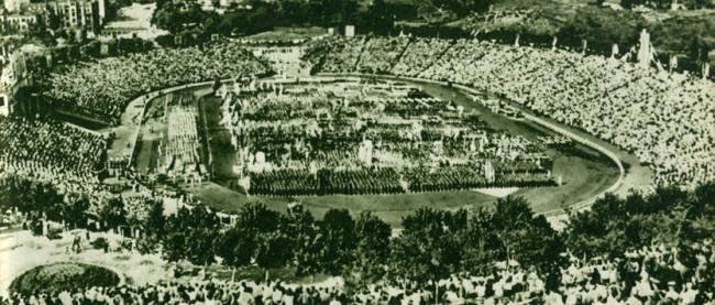 1960-е годы. Праздник на стадионе Динамо