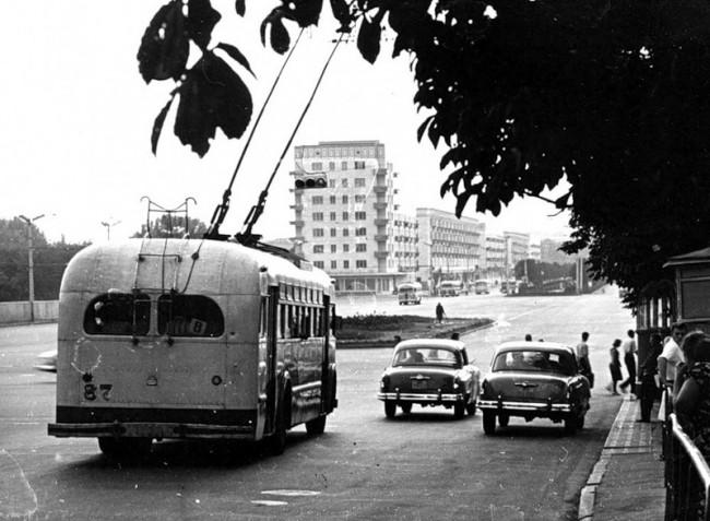 Площадь Победы в 1961 году