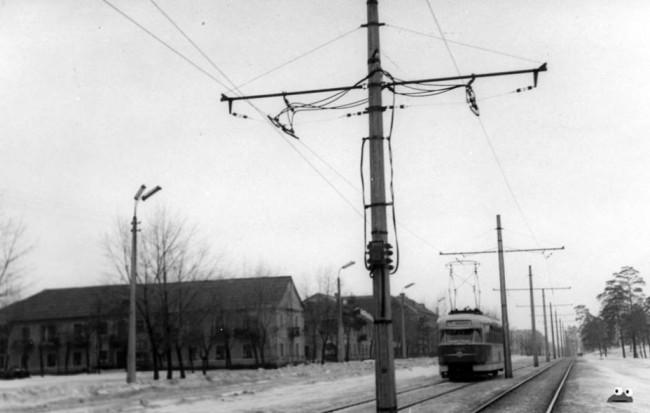 Улица Попудренко, Левый берег в 1966 году