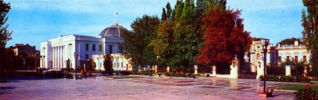 Мариинский дворец в 1974 году