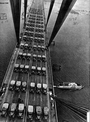 Московский мост в 1976 году
