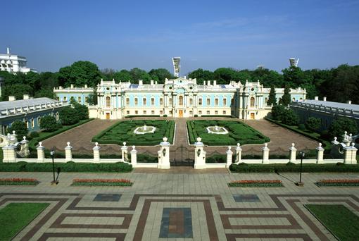 Мариинский дворец в начале 80-х годов 20 века