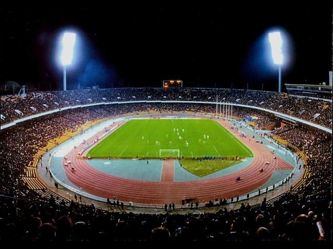 Республиканский (Олимпийский) стадион в 80-х годах 20 века
