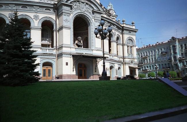 Киевский Оперный театр в 1990 году