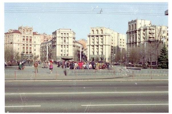 1993 год. Майдан Незалежності (Площадь Независимости)