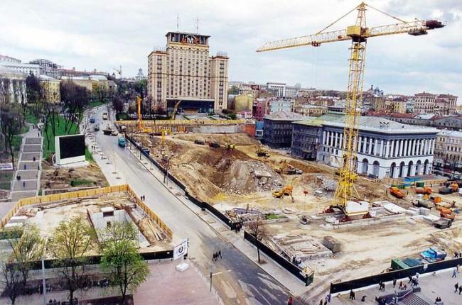 Майдан в 2001 году, Киев