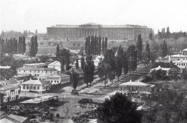 Бульвар Шевченко в 60-х годах 19 века