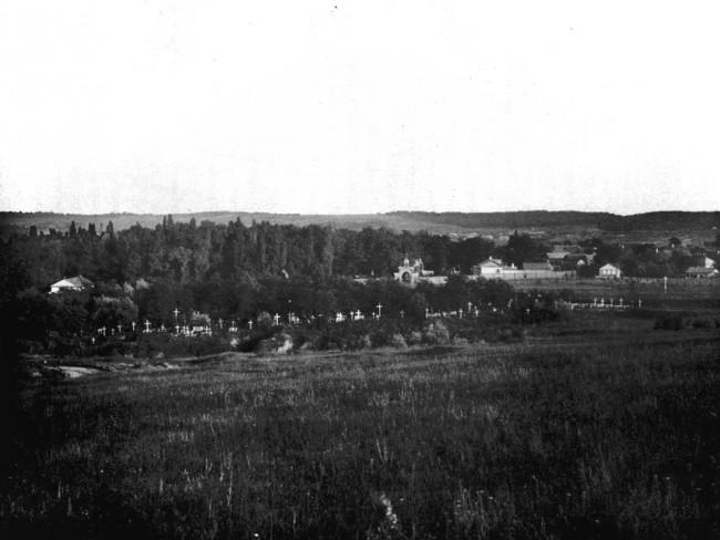 Байково кладбище в конце 19 века