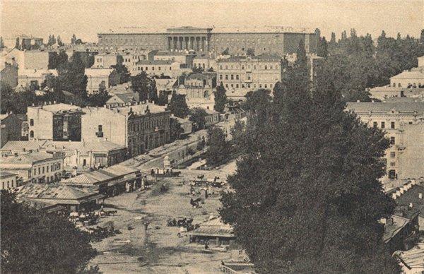 Бульвар Шевченко в конце 19 века