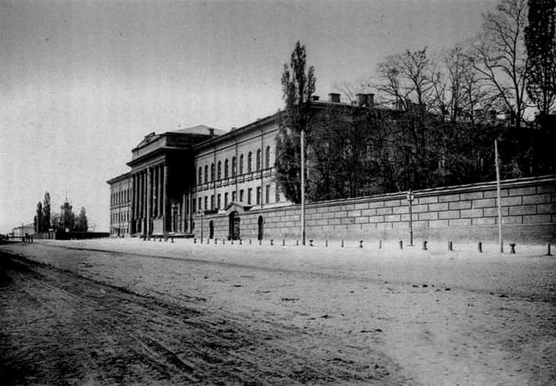 Вид на Университет с Владимирской, конец 19 века