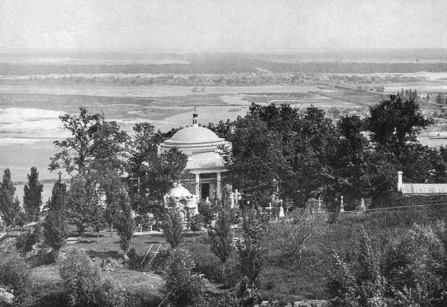 Аскольдова могила в 19 веке