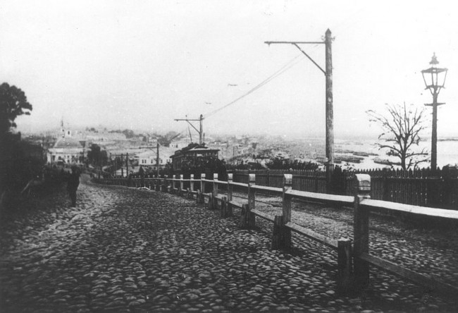 Владимирский спуск в 1894 году