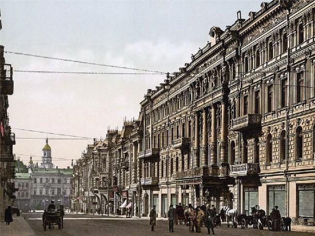 Отель Континенталь в Киеве в 1900 году