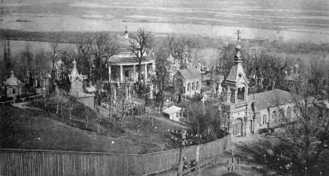 Аскольдова могила и Некрополь в 20 веке