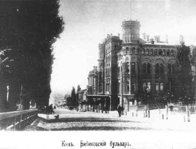 Фото бульвара Шевченко в начале 20 века