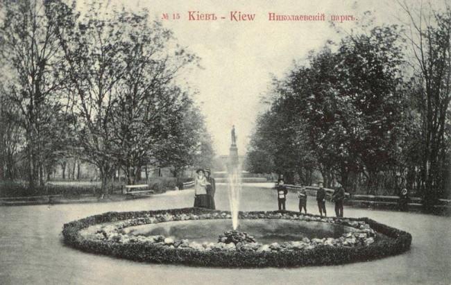 Памятник Николаю в Николаевском парке, Киев