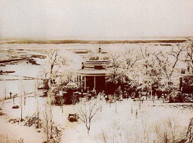 Аскольдова могила в начале 20 века