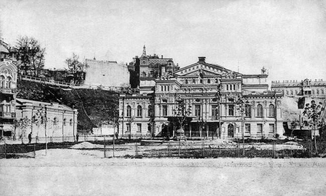 Театр Соловцова (ныне Франко) в 1906 году