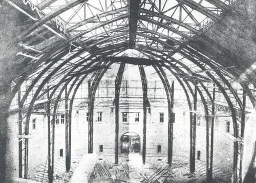 Как строили Бессарабский рынок, фото 1910 года