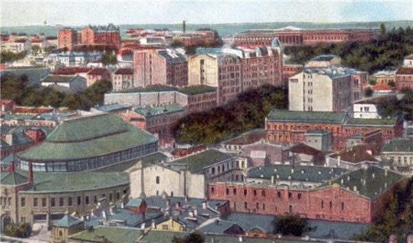 Открытка 1910 года. Бульвар Шевченко