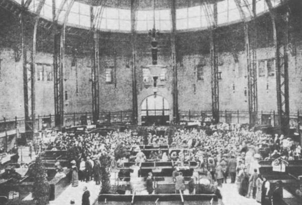 Как открывали Бессарабский рынок в 1912 году