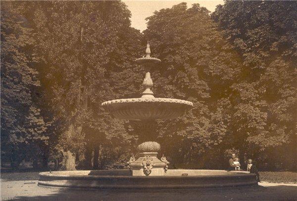 Мариинский парк в 1920 году