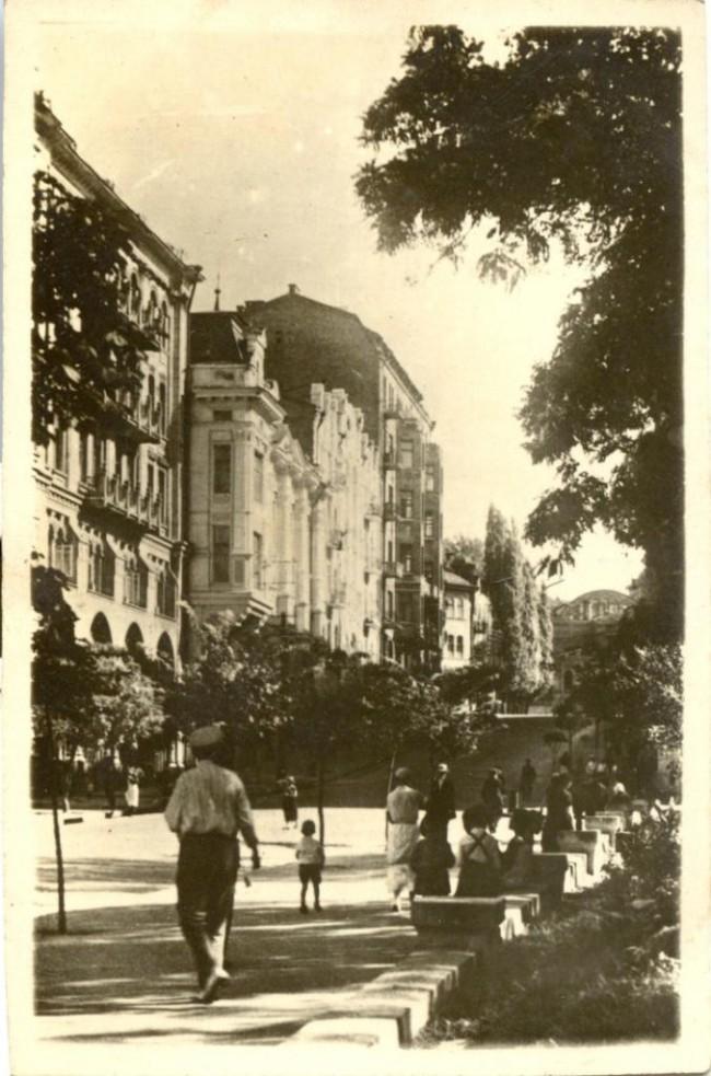 Улица Карла Маркса в 30-х годах 20 века