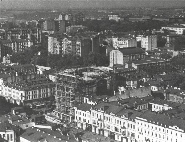1936 год. Строительство ЦУМа