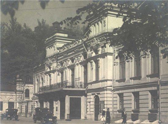 Театр Франко в 36 году, Киев
