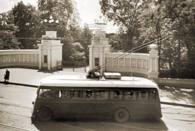 Бульвар Шевченко в 30-х годах