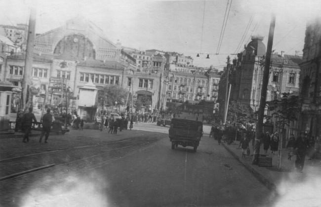 Бульвар Шевченко в 40-х годах 20 века