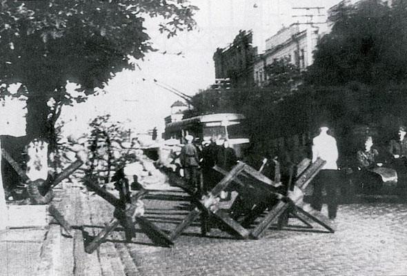 Немецкая оккупация в 1941 году, ЦУМ