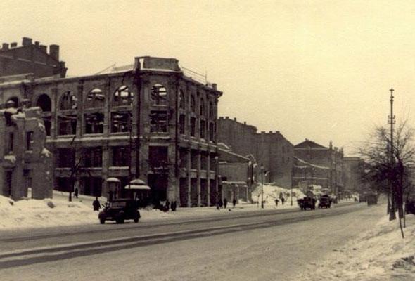 центральный универмаг Киева в 1942 году