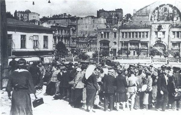 Бульвар Шевченко в 1945 году
