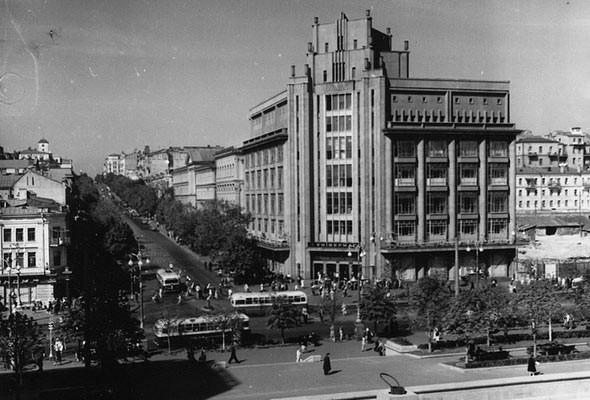ЦУМ в 1948 году