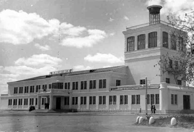 Аэропорт Жуляны в 1950 году
