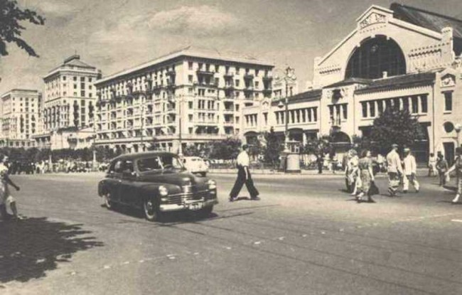 Бессарабка в 50-х годах