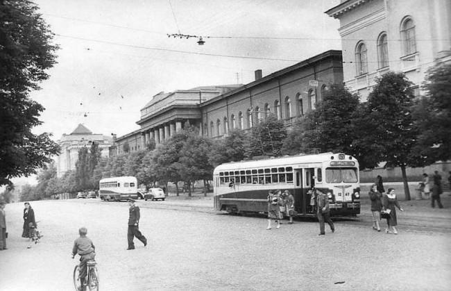 Университет Шевченко в 50-х годах 20 века