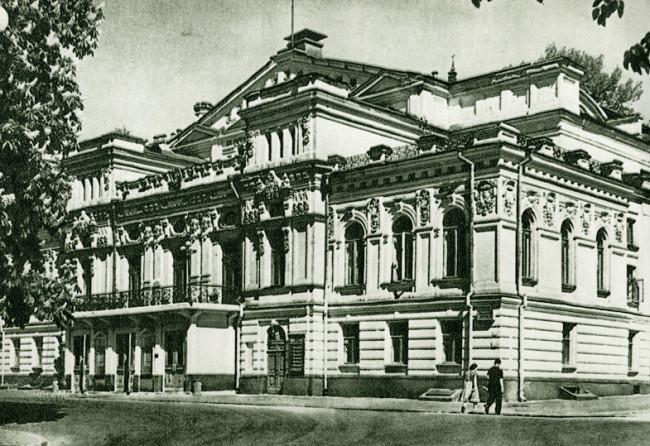 Театр Франко на Городецкого, Киев, 54 год