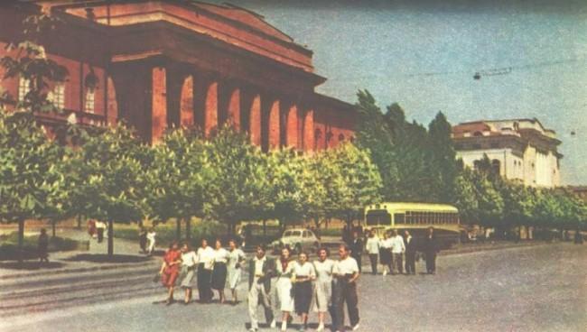 Киевский государственный университет имени Т. Г. Шевченко в 1957 году