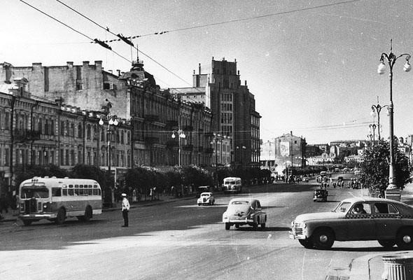 Крещатик в 1960 году
