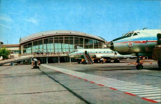 Аэропорт Борисполь в 60-х годах