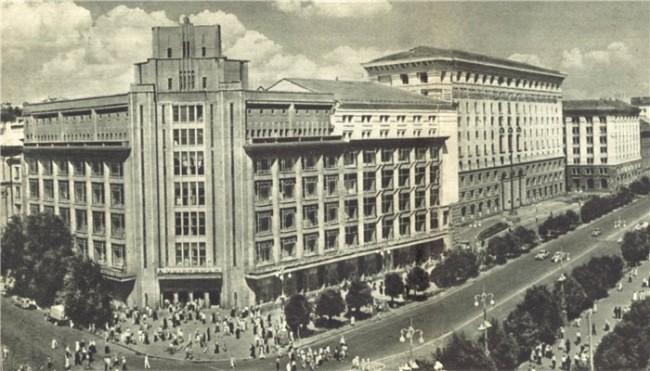 1961 год. ЦУМ и Крещатик