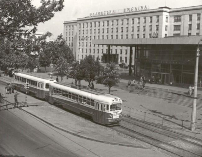 Проспект победы в 1962 году