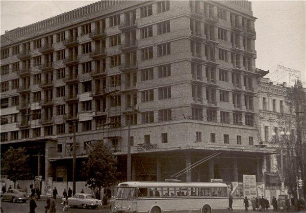Бульвар Шевченко в 1963 году