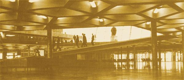 Внутри аэропорта Борисполь в 1963 году