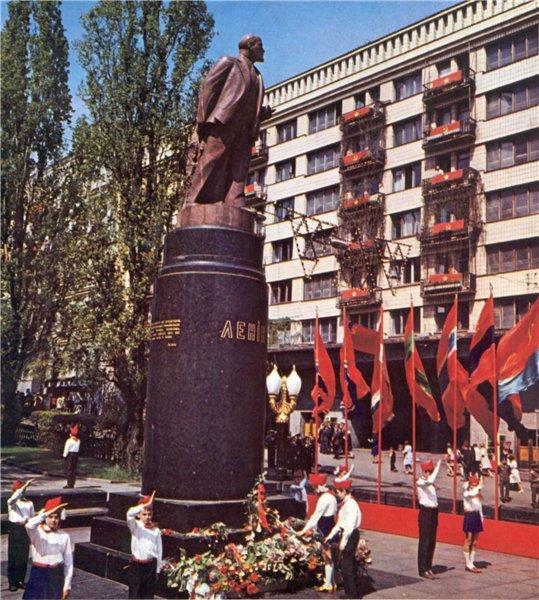 Бульвар Шевченко в 1970 году