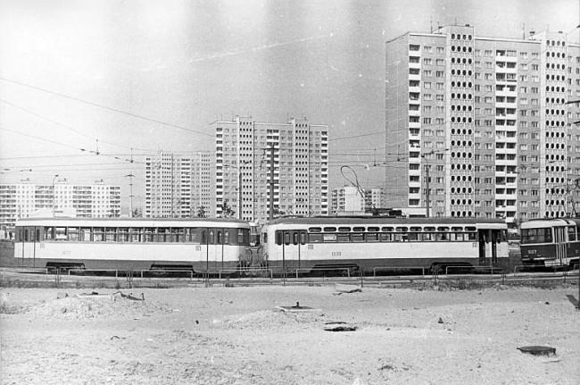 Станция метро Героев Днепра в 1981 году