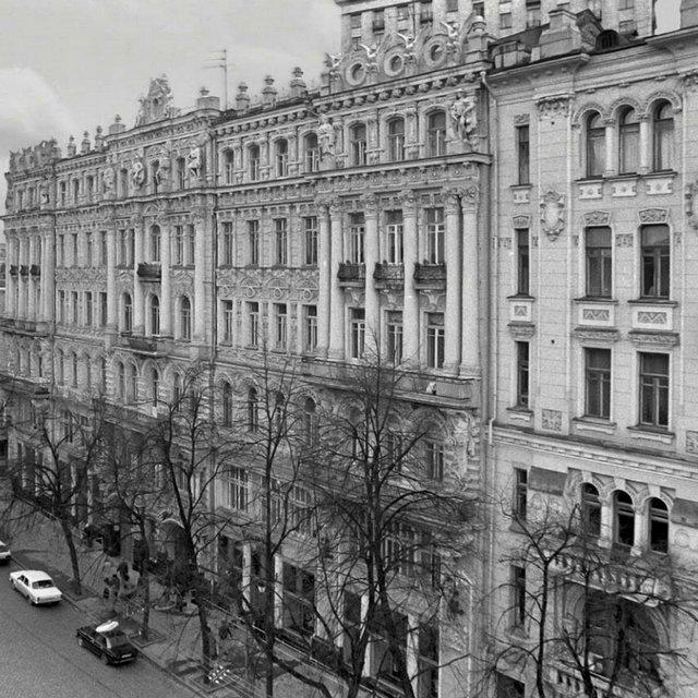 1993 год. Улица Карла Маркса (Городецкого), февраль месяц. Фото Фалин В.И.